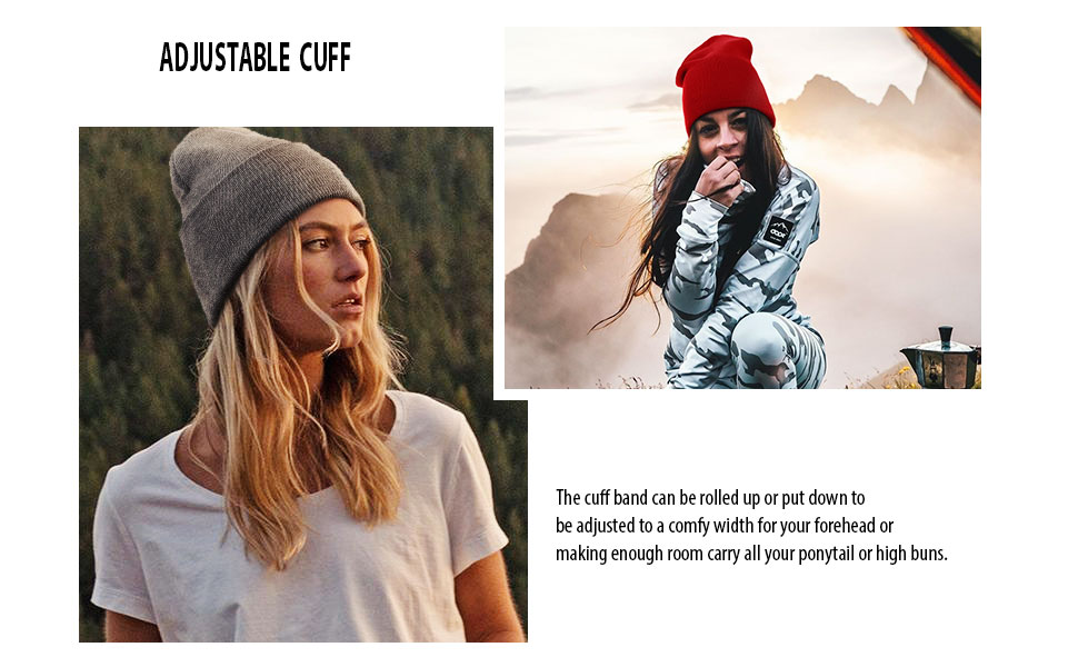 Winter hats Acrylic Skull Cap