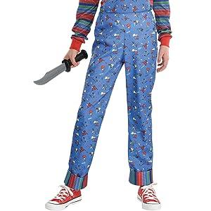 pants onesie overalls 80s horror scary movie character kids boys girls children halloween bide duo
