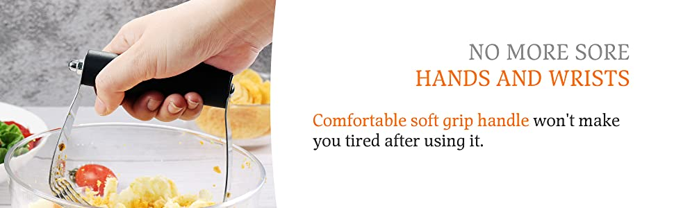 dough blender large soft grip comfortable handle