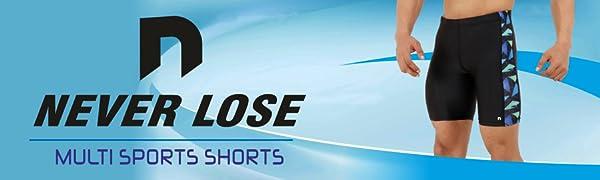 NEVER LOSE Tights Shorts