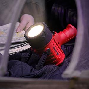 jobsmart large camping volt charger cop lumens lights les m12 1million red 1000 spot