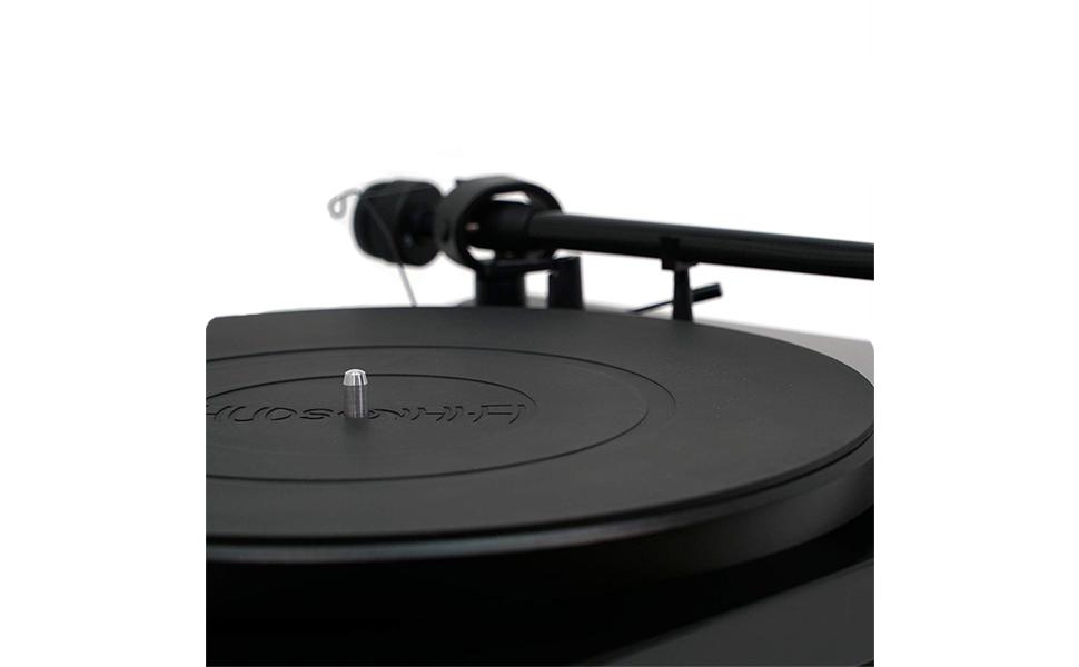 Plateau de plateau tournant Hudson Hi-Fi Conception en caoutchouc de silicone de qualit/é audiophile Universelle pour tous les tourne-disques vinyle LP