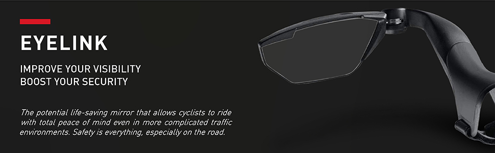 selle italia eyelink mirror for bicycles improve visibility security road bike handles made in italy