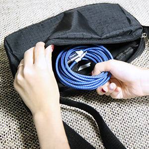 Tangle Free Micro USB Cable