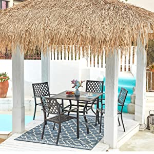 Patio Dining Set for 4