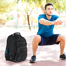 Outdoor Camping Backpack for men women / overnight backpack with the large capacity USB charging