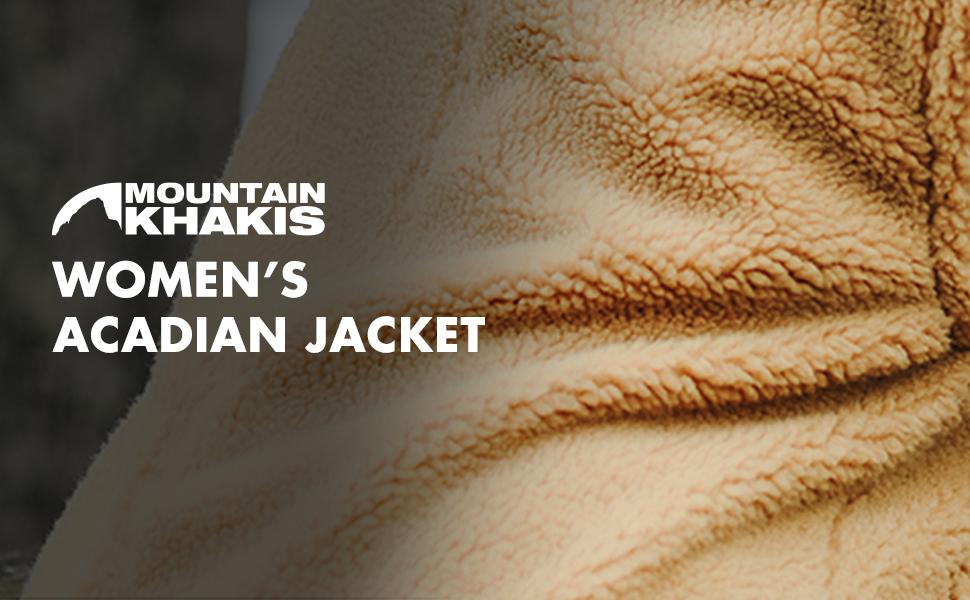 MOUNTAIN KHAKIS WOMENS ACADIAN JACKET