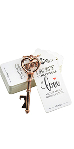 metal card bottle opener openers wedding favors party favor bottle opener