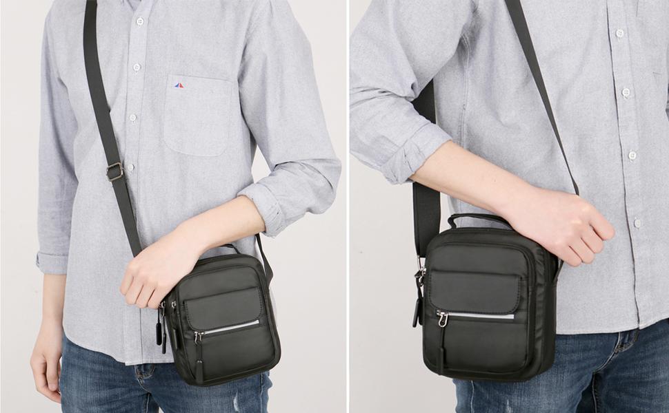 nuevos hombres de negocios bolsos hombre mensajero bolsa Casual Crossbody bolso de viaje de los hombres bolsas mango superior de hombro bolso