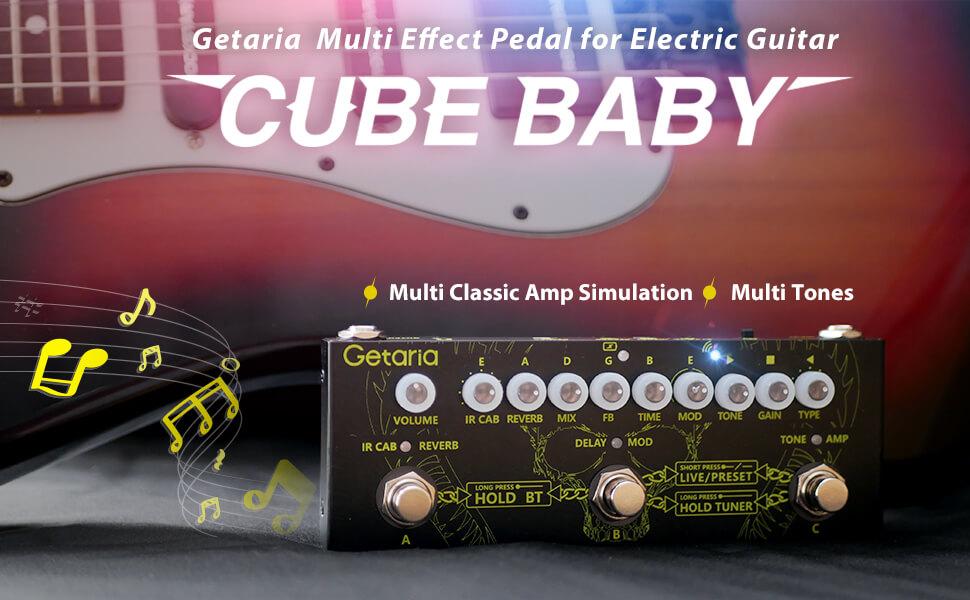 guitar multi effect pedal