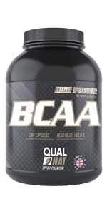 BCAA con Vitaminas B2 B6 | Suplemento Deportivo | 240 ...