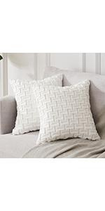 Cream Throw Pillow Cases
