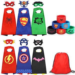 Capa de disfrace de superhéroe