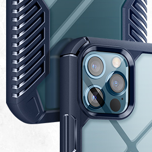 Vanguard Armor Case for iPhone 12 Pro Max 6.7 Inch-Blue