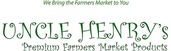 Uncle Henry's Premium Farmers Market Products Cranberry