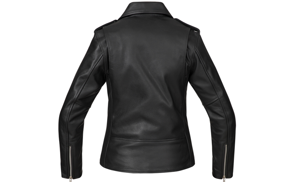 Bohmberg Premium Chaqueta de cuero atractiva para mujer - Cuero 100% real-para motociclistas-cuero pesado - XL: Amazon.es: Coche y moto
