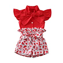 Shiningbaby Little Girl Summer Dungarees Dot Printed Jumpsuit Baby Kid Sleeveless Strap Sunsuit Outfit for Age 1-5 Years Old
