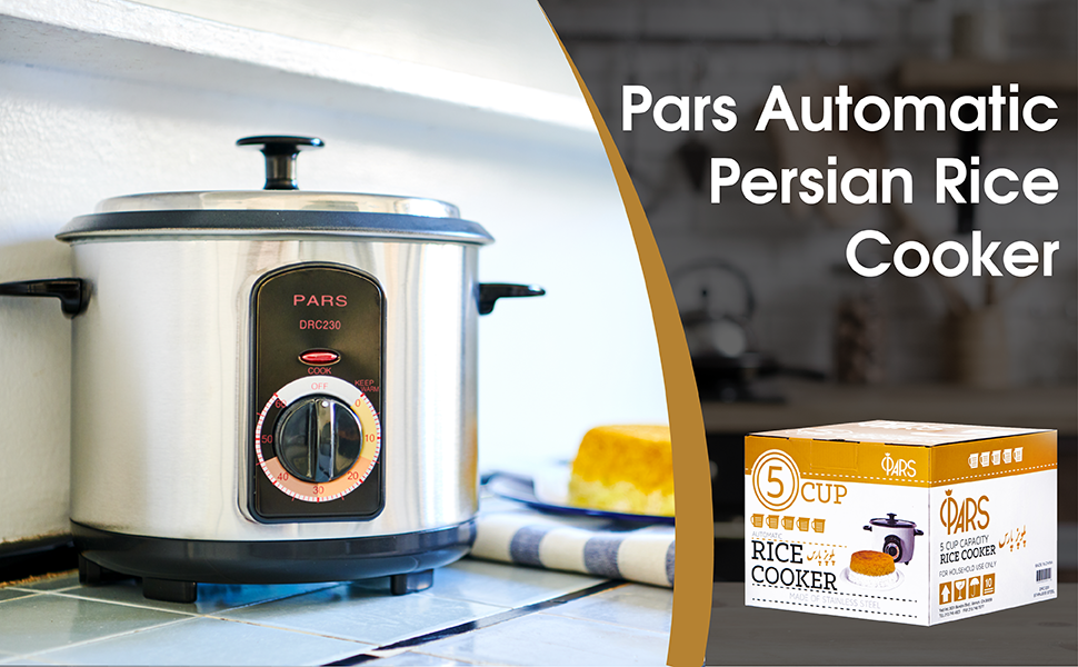 Pars automatic persian cooker