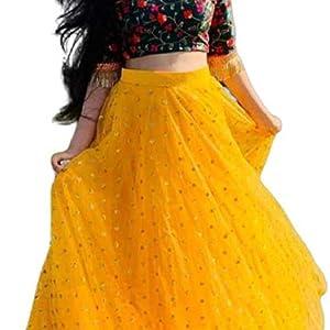 yellow color choli