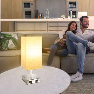 touch lamp with usb ports