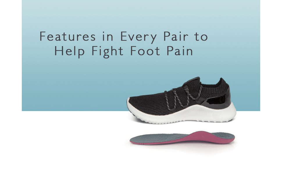 Dani Arch Support Sneakers for Foot Pain