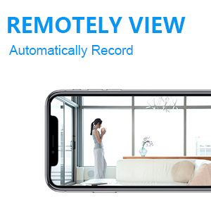 Remotely viewing