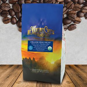 Organic Swiss Water Decaf Coffee from Peru whole bean