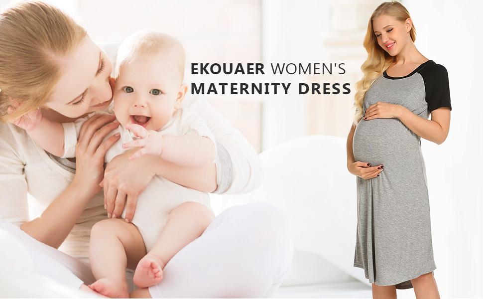 Nursing Nightgown for Breastfeeding