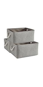 AlphaHome Storage Basket (Grey)