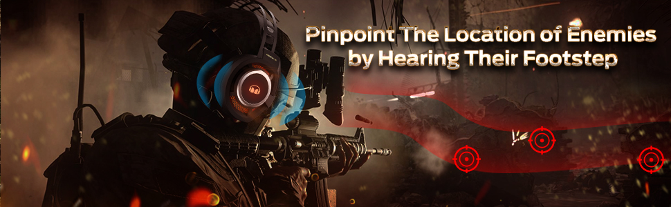 Pinpoint The Location of Enemies by Hearing Their Footstep