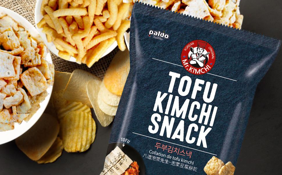 Paldo Fun amp; Yum Snacks Kimchi Tofu Shrimp Cracker Crab Chips Sesame Honey