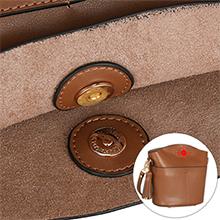medium crossbody purse with insert pouch