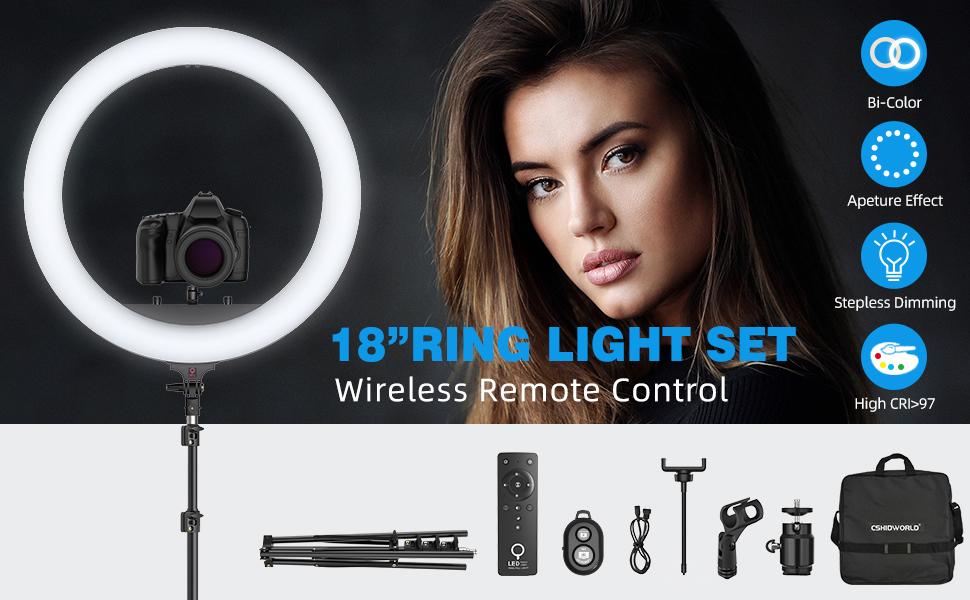 """18"""" LED Ring Light"""
