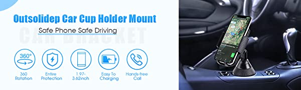 car cup holder mount