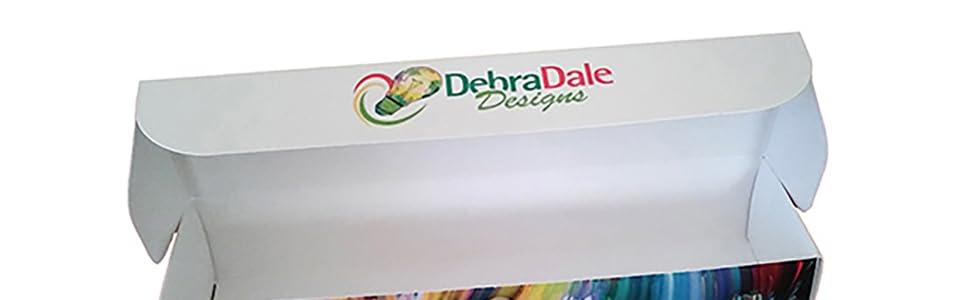 Debra Dale Designs Box, Index Card Box, Flash Cards with Box
