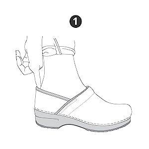 How to Fit Dansko Clogs