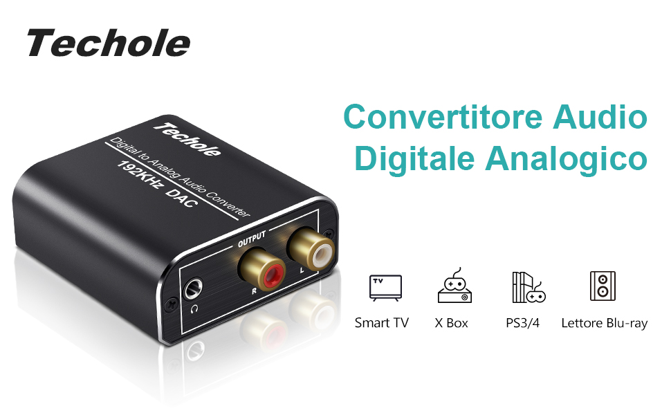 Convertitore Audio Digitale Analogico