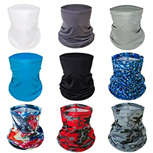 Face Scarf Mask Neck Gaiter Bandana