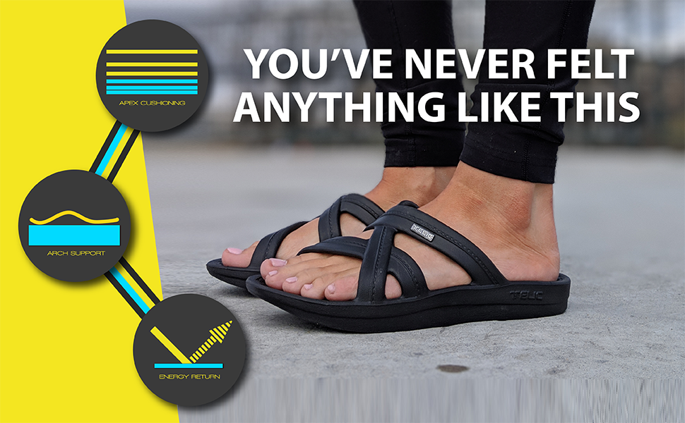 Telic, Mallory, Sandal, Comfort, Arch Support, Crocs, Oofos
