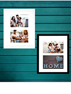 tasse verre collage picture frame to fit 2 5x7' photos two wall hang mount easy large multiple dual