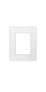 8 x 10 inch white single matte