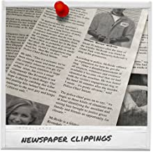 crime scene newspaper clippings for cold case game