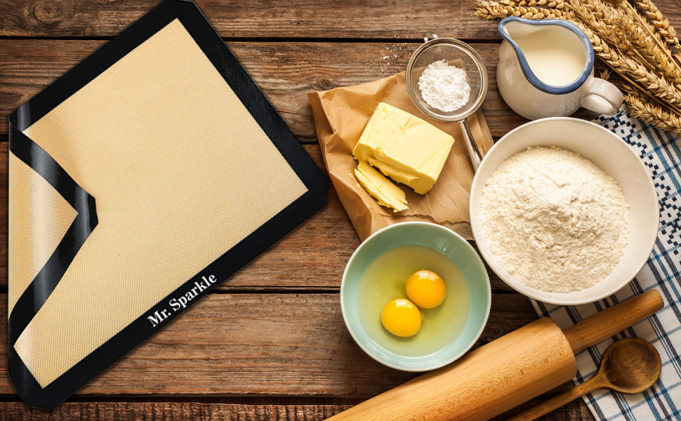 cookie sheet silicone baking mats baking sheets