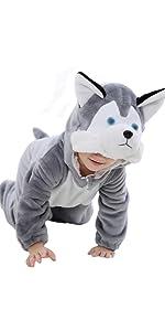 Husky Romper