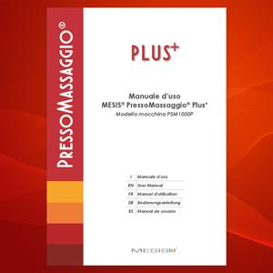 PressoMassaggio Mesis Plus+ manuale multilingua