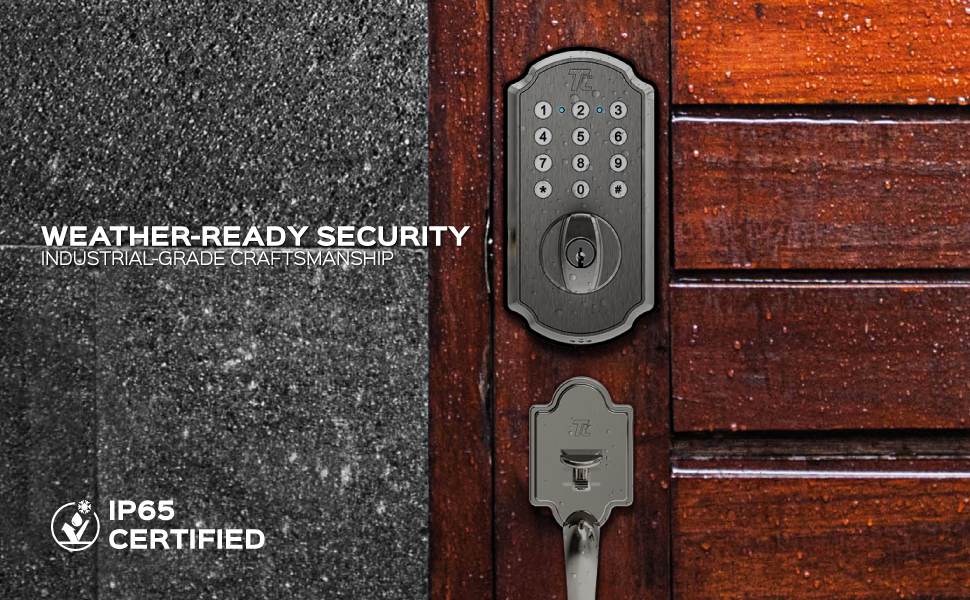 WEATHER-READY SECURITY INDUSTRIAL-GRADE CRAFTSMANSHIP