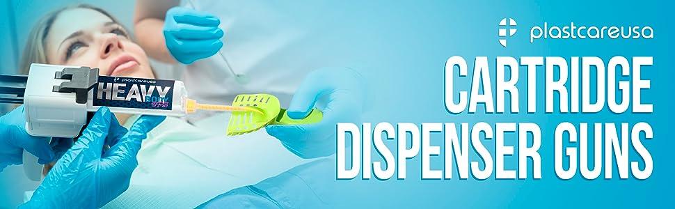 plastcare usa dental supplies dispenser cartridge gun