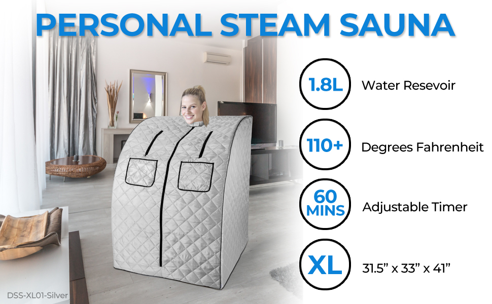 durasage, personal steam sauna, portable, pain relief, weight loss, detox