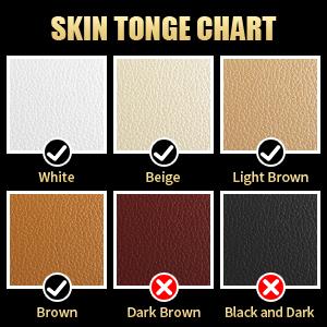 SKIN TONGE CHART