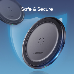 Safe and secure wireless charger